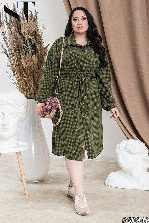 Платье-рубашка 60949