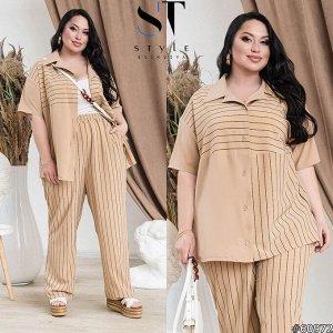 Костюм  60972 (рубашка+брюки)