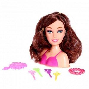 Кукла-манекен для создания причёсок «Машенька», с аксессуарами