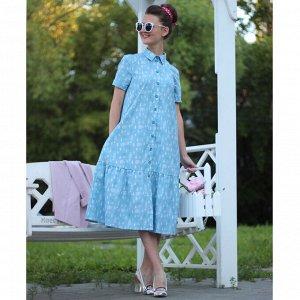 """Рубашка-платье """"Мишки в туманном лесу"""""""
