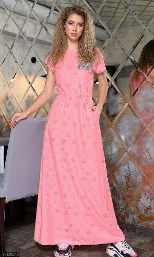 Платье 8512537-3 розовый Весна Украина