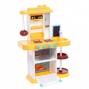 Игровой модуль кухня «Моя любимая кухня», из крана льётся вода, пар, свет