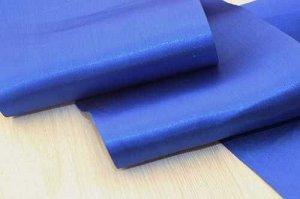 Однотонная атласная лента (синий), 140мм * 10 ярдов(+-1)                                 В наличии