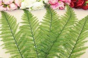 Листья папоротника на проволоке 76 см, упак. 5 шт