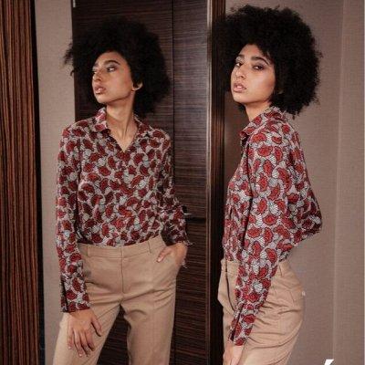 Priz Moda - Женственность и Стиль! — Блузки с длинным рукавом — Блузы