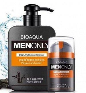 BIOAQUA MENONLY LCY LIVE Пенка для умывания лица мужская, 168 г