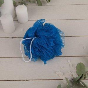 Мочалка для тела Доляна, 30 гр, цвет МИКС