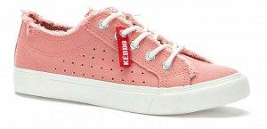 897866/01-02 розовый текстиль женские полуботинки