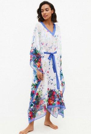 Платье пляжное жен. Atea белый принт