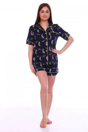 Пижама Ткань: Кулирка; Состав: 100% хлопок; Размеры: 46
