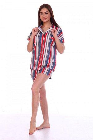 Пижама Ткань: Кулирка; Состав: 100% хлопок; Размеры: 42, 44, 46, 48, 50