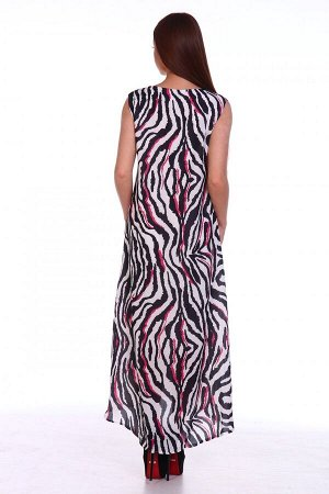 Платье Ткань: Полиэстер; Размеры: 48, 50, 52