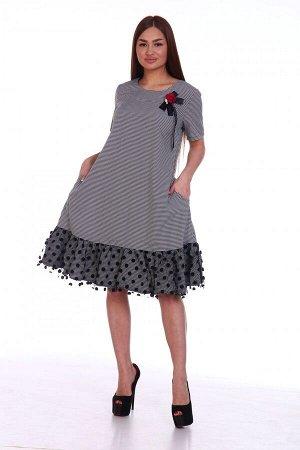 Платье Ткань: Полиэстер; Размеры: 50, 52, 54, 56, 58