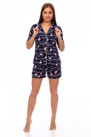 Пижама Ткань: Кулирка; Состав: 100% хлопок; Размеры: 42-52