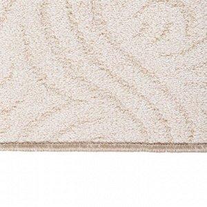 Ковер скролл САДКО размер 100х200 см, цвет бежевый 106/3, войлок 195 г/м2
