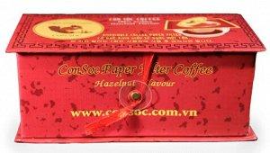 Кофе в фильтрах красная пачка (Арабика +орех)
