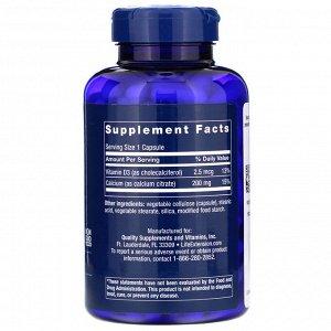 Life Extension, Calcium Citrate with Vitamin D, 200 Capsules