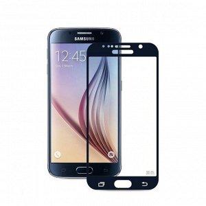 Черный. Стекло Full Screen защитное Samsung Galaxy