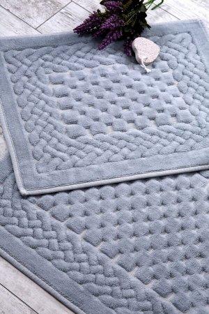 Коврик для ванной Marielle Цвет: Серый (60х50 см,60х100 см). Производитель: KARVEN
