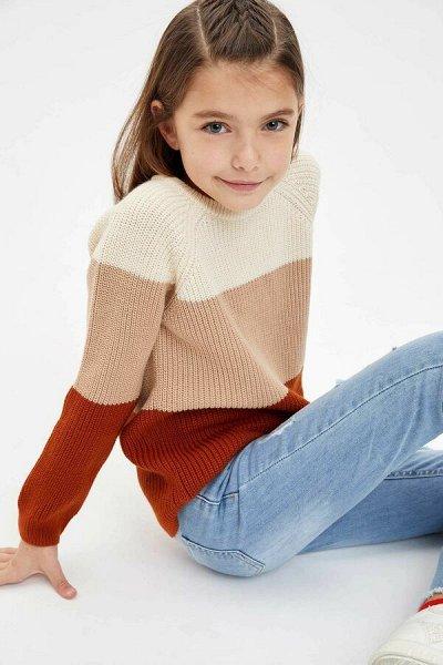 DEFACTO - 💃🏻толстовки, свитеры,джемпер, рубашки, футболки🕺🏻 — DEFACTO ДЕВОЧКАМ 3-14 лет — Для девочек