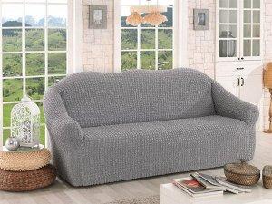 Чехол для мебели Verina Цвет Серый (Трехместный)