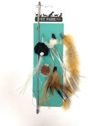 Petpark дразнилка для кошек (сменные кисточки)
