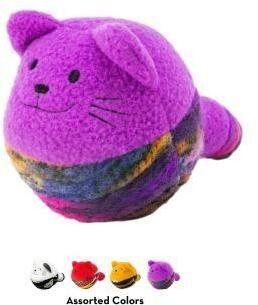 KONG игрушка для кошек Кот-клубок, с мятой, цвета в ассортименте