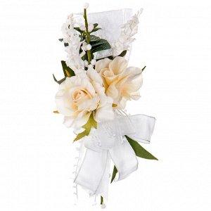 Искусственный цветок Букет (7х16х18 см)