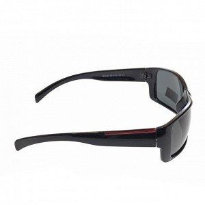 Стильные мужские очки LTD с чёрными линзами.