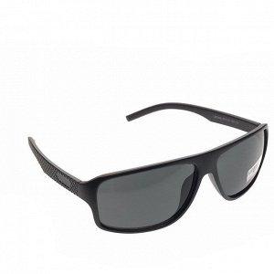 Стильные мужские очки Suare в матовой оправе с чёрными линзами.