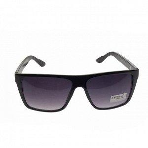 Стильные мужские очки Luvar в чёрной оправе с затемнёнными линзами.