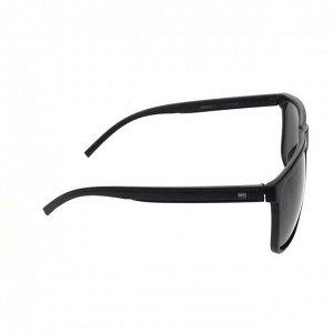 Стильные мужские очки Gamer в матовой оправе с чёрными линзами.