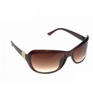 Стильные женские очки Eliss кофейного цвета.