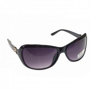 См. описание. Стильные женские очки Teo чёрного цвета с затемнёнными линзами.