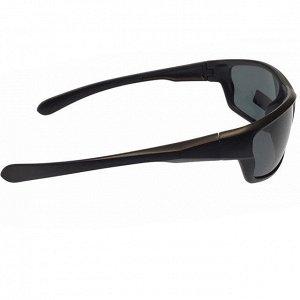 Стильные мужские очки Rain в матовой оправе с чёрными линзами.