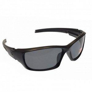 См. описание. Стильные мужские очки Diamant в матовой оправе с чёрными линзами.