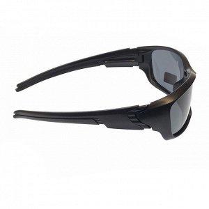 Стильные мужские очки Diamant в матовой оправе с чёрными линзами.