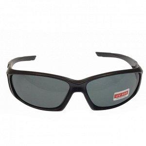 Стильные мужские очки Scemka в матовой оправе с чёрными линзами.