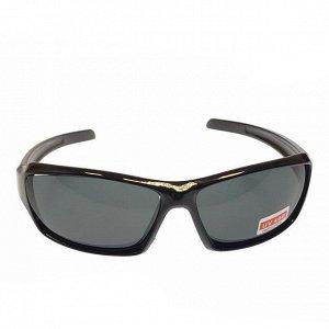 Стильные мужские очки Nexus в чёрной оправе с чёрными линзами.