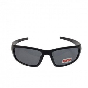 Стильные мужские очки Refetto в матовой оправе с чёрными линзами.