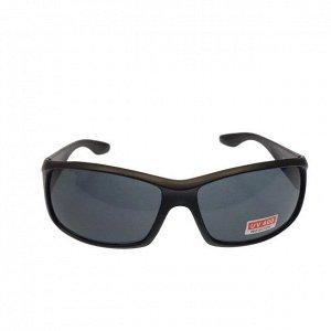 Стильные мужские очки Swer в матовой оправе с чёрными линзами.