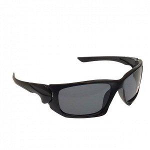 Стильные мужские очки Onix в матовой оправе с чёрными линзами.