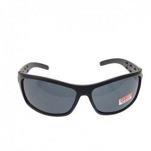 Стильные мужские очки Krion в матовой оправе с чёрными линзами.