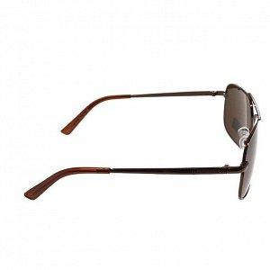 Классические мужские очки Twinz кофейного цвета.