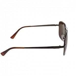 Классические мужские очки Mister кофейного цвета.