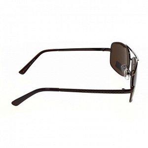 Классические мужские очки Real кофейного цвета.