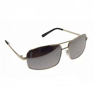 Классические мужские очки Irisk с зеркально-серебристыми линзами.