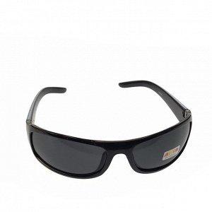 Стильные мужские очки Glaus в чёрной оправе с затемнёнными линзами.