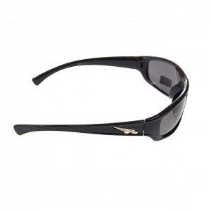 Стильные мужские очки Stromae в чёрной оправе с затемнёнными линзами.