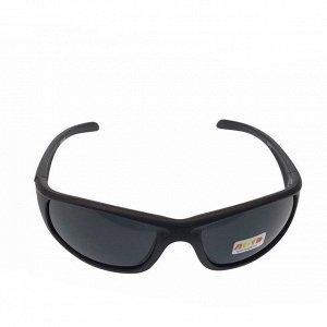 Стильные мужские очки Neo в чёрной матовой оправе с затемнёнными линзами.